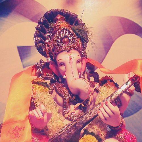 Ganesh Ganpathibappamorya Blessed  Society Instagram Instapic Instaedit Instafun Besttimeoftheyear Pune Puneinstagrammers Punekar