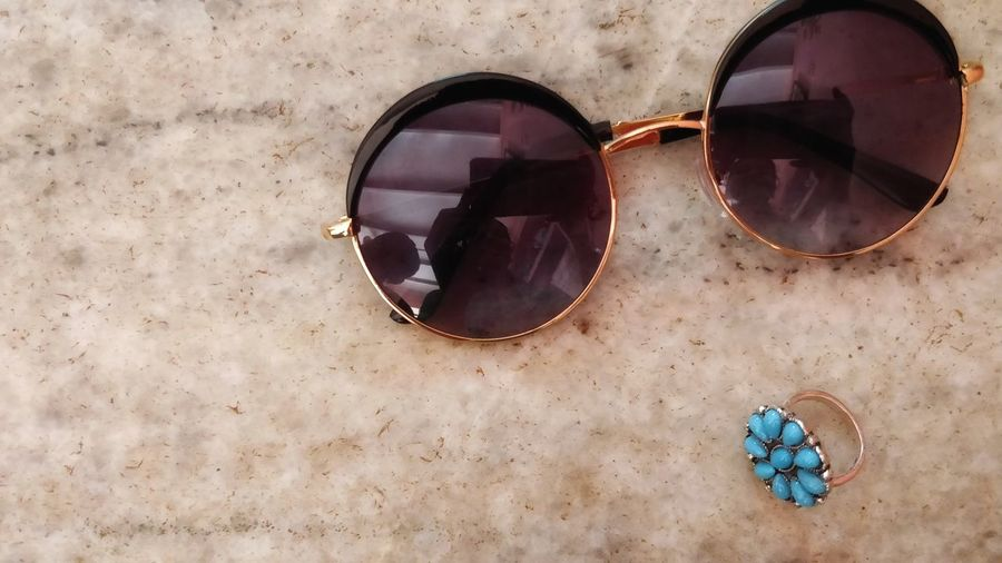 shades and a ring Marble Surface Luxurious Glam Ring Finger Ring Accessories Eyewear Sunglasses Eyesight Vision