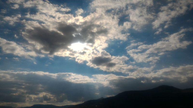 Beauty In Nature Mountain Sky Nature Cloud - Sky Cloud Outdoors Blue Bulutlar Doğa Blue Sky Mavigökyüzü Malatya Mavi