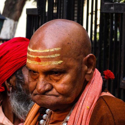 Close-up of sadhu