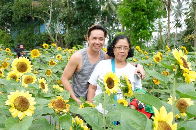 mother & son Two People Smiling Plant Happiness Growth Flower Togetherness Flowering Plant Leisure Activity Lifestyles Nature Bonding