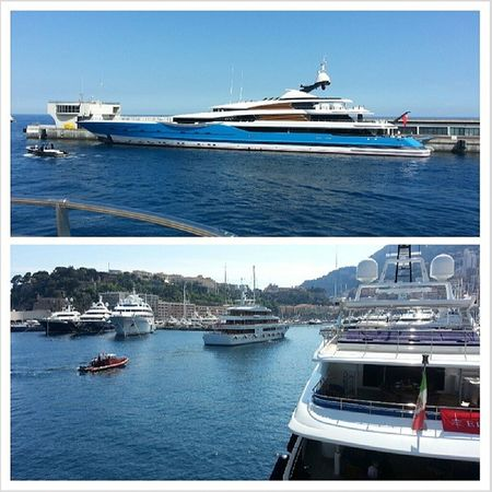 They just keep getting bigger.. Yachts Monaco W2 Port