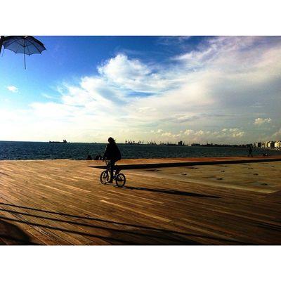 | Ride | Skg Igers Ig_greekshots Ig_thessaloniki Instalifo Lifo Lovethiscity OneLove Colors Skyporn Cloudporn Bike
