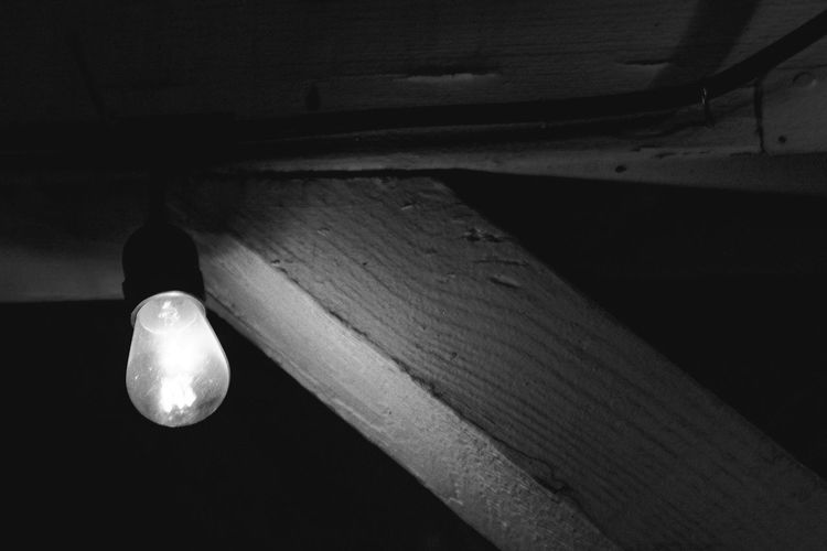 Ambient Light Black Black And White Blackandwhite Close-up Edison Bulb Edison Bulbs Edison Light Bulb Filament Filament Bulb Filament Light Filament Lights Filaments Low Angle View No People Weathered