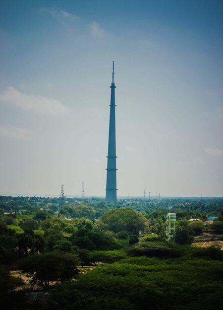 Rameshwaram Outdoors Sky Landscape Travel Destinations Broadcasting Tower Doordarshan Island Architecture Colour Your Horizn