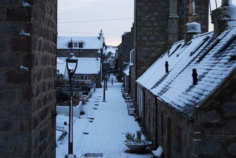 Cold Temperature Winter Snow Building Exterior Built Structure Frozen Shades Of Winter Colour Your Horizn