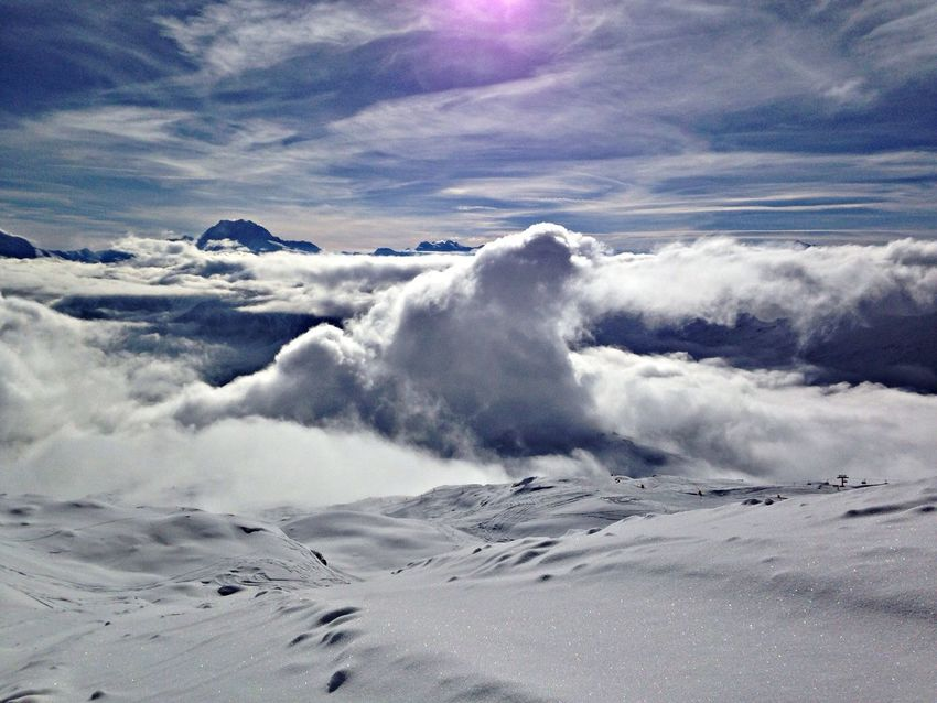 Snow Freeride Outdoors Mountains