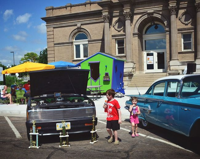 Carnegie Library Taking Photos Beatrice A Day In The Life Small Town USA Car Show American Cars Main Street Check This Out Hot Weather Kids Being Kids