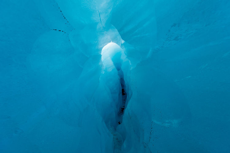 Close-Up Of Ice Cave
