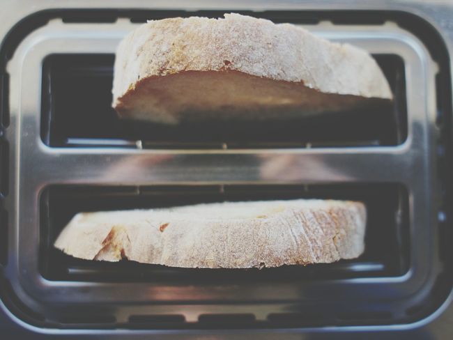 Oven Food And Drink Baking Sheet Close-up Indoors  Food Heat - Temperature No People Toasted Bread Day Toaster