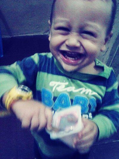 Amor Da Mamãe 💕 , sorriso mais Lindo👶 First Eyeem Photo