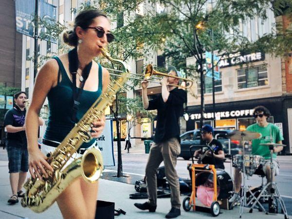 Lifestyles Streetmusician Streetphotography Saxophone