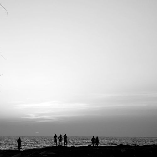 Streetphotography Blackandwhite Silhouette Getting Inspired Minimalism Monochrome Rsa_mininal The Minimals (less Edit Juxt Photography) Sunset Greece