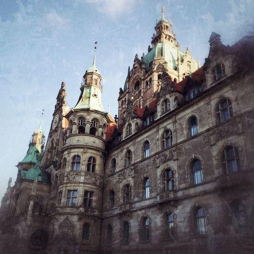 Rathaus Neues Rathaus Hannover Tag Der Deutschen Einheit