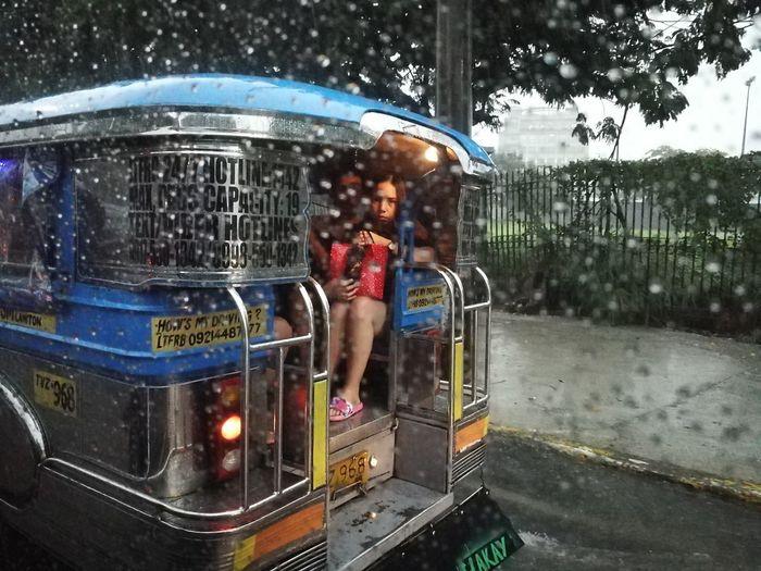 Commuter s Diary The Traveler - 2018 EyeEm Awards Water Puddle Flood Full Length Wet Drop Tree Torrential Rain RainDrop