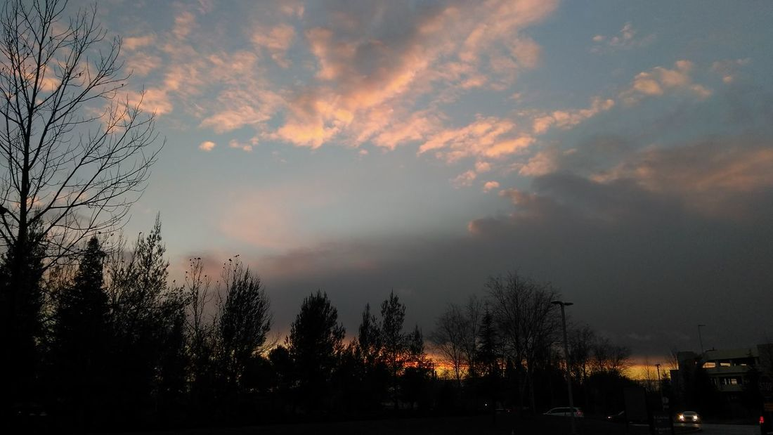 Sunset Cloud - Sky Dramatic Sky Outdoors Beauty In Nature Nor Cal Smart Phone Photographer Smartphone Photography From My Point Of View Peace ✌ Evening Sky No Edit / No Filter