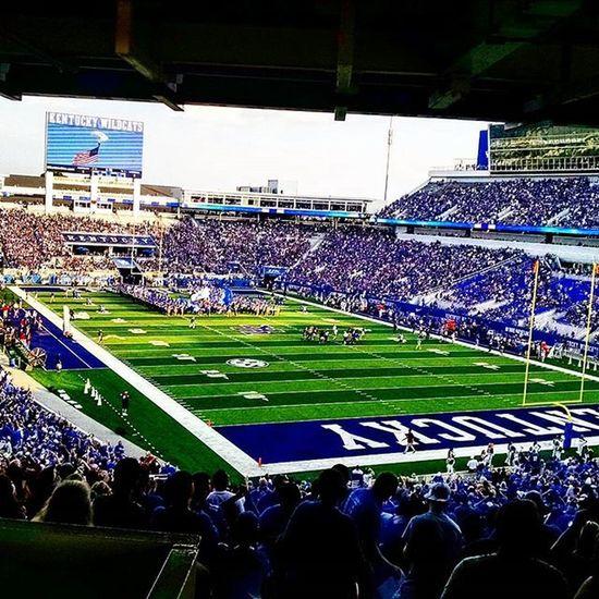 Weruk BBN Kentucky  Lexington Lex Wildcats Collegefootball Football @thebrookebingham