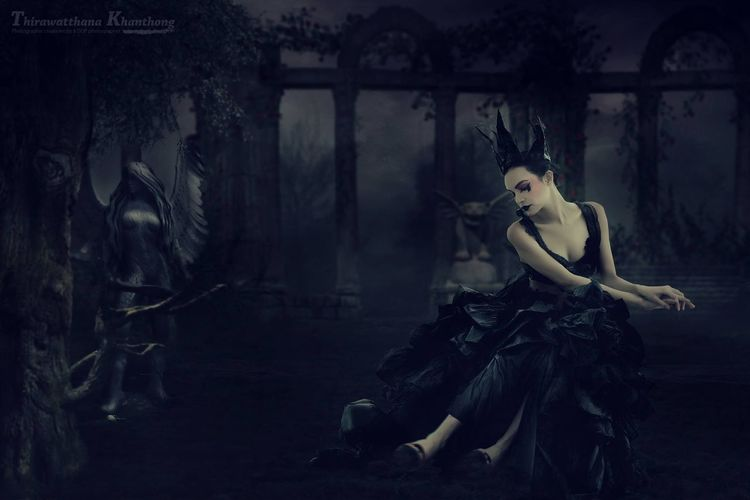 Really, she's lonely! DrNui Photographic Creations Fantasy Photo Manipulation Bang Yai Thailand Portrait