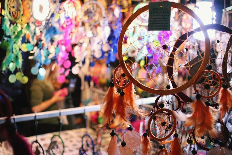 Dreamcatchers For Sale At Market