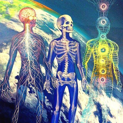 Trippy Art Spiritual Chakras Mind Body Soul
