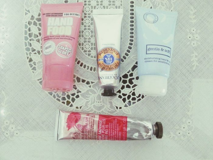 Handcream Soapandglory Marksandspencer Loccitane