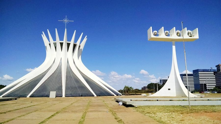 Brasília Catedral Bsb Catedral Brasilia Architecture Tourism History Travel Destinations City Church Cathedral