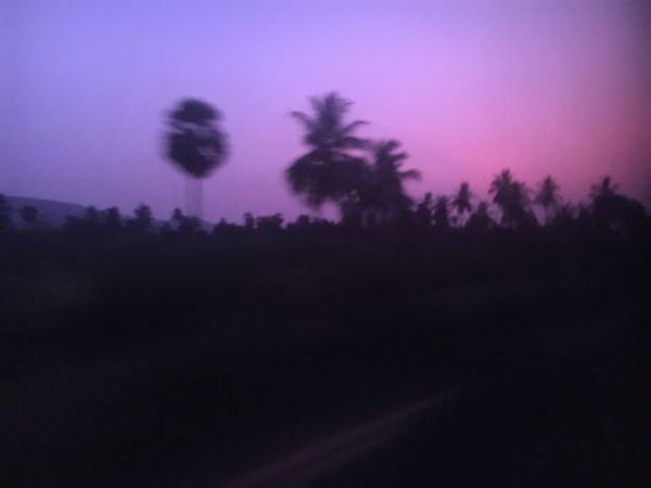 Nofilters except that blue window of any typical Indian train. Nature Landscape Scenics The Street Photographer - 2017 EyeEm Awards Skyporn Trains Presunrise Colorfulsky Love ♥