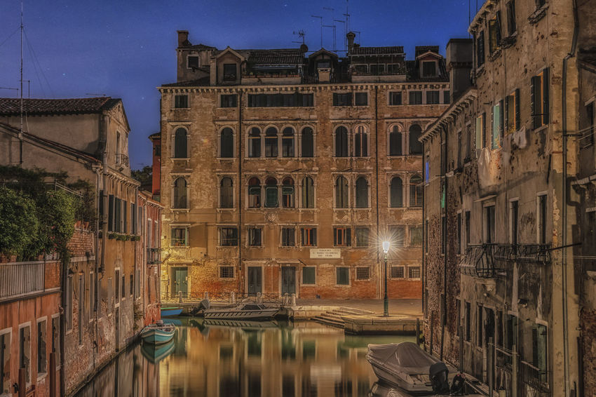 Architecture Architecture Building Exterior Built Structure Water Building City Canal Nature Sky Reflection Illuminated Tourism Mode Of Transportation Travel Night Transportation Travel Destinations Nautical Vessel Window No People