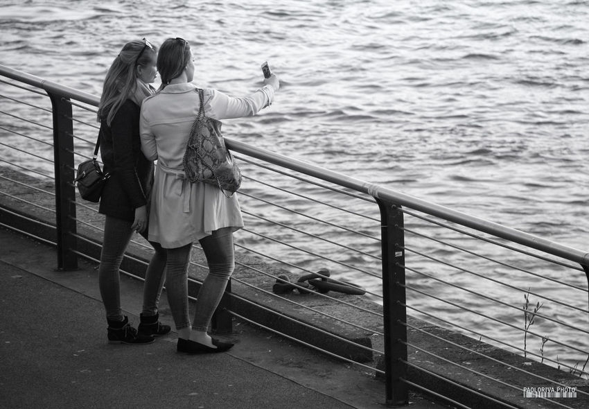 Monochrome Monochrome Photography Person River Selfie Street Streetphotography Water