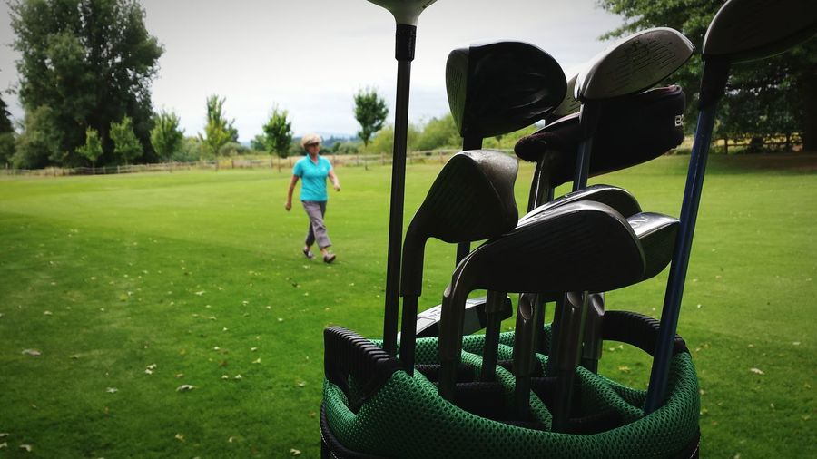 Relaxing Enjoying Life Eye4photography  Silouhette Golfing