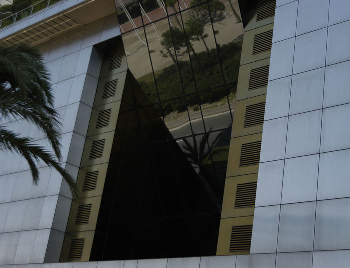 Architecture Building Building Exterior Built Structure City City Life Modern Office Building Open Window Tall - High Window