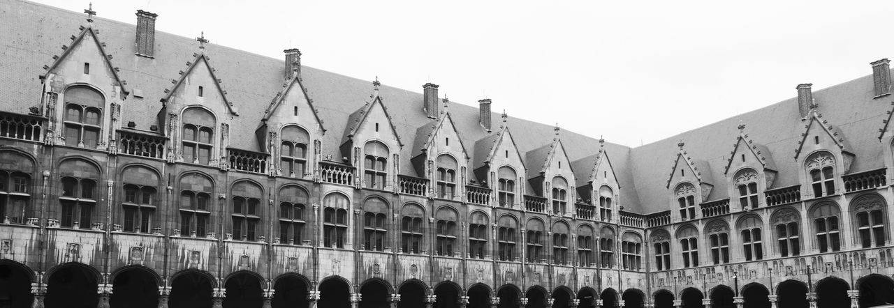 Bnw_friday_eyeemchallenge Palace Of The Prince-Bishops Black And White Architecture Historical Building Tourist Destination Touristic Attraction Rooftops Panoramic EyeEm Best Shots - Black + White Black And White Monochrome Old Architecture Architectural Heritage In A Row Facade Building Old Building  Architecture Building Exterior Built Structure Sky Tourism Travel Destinations Copy Space Building Travel City The Past Clear Sky Day