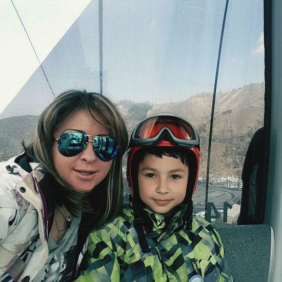 Mountain View Walking Around Son OpenEdit Hello World Enjoying Life Mountains