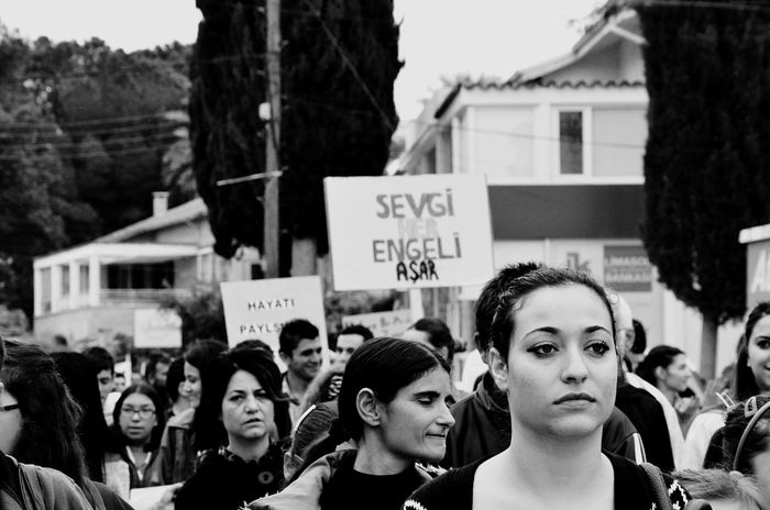 Woman Activist  Street Streetphotography Cyprus