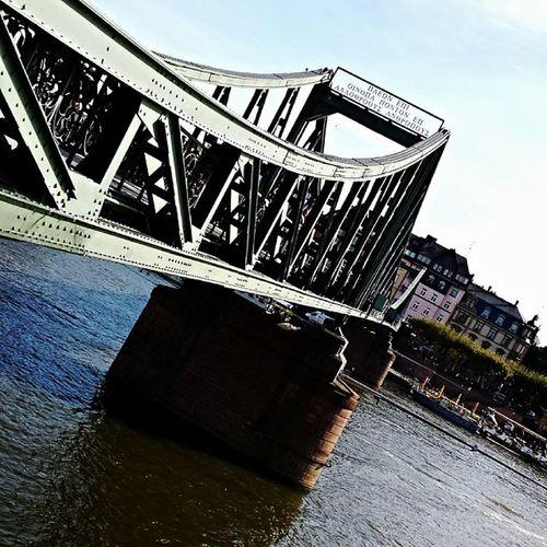 Frankfurt Main River Mainhattan sunny day noinstagramfilter photoshoptouch l4l f4f