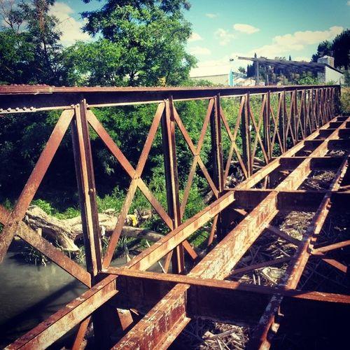 Puente Granada Lachar Oxido  Ruinas Rio Choperas Pueblo Antiguo Vias Historia