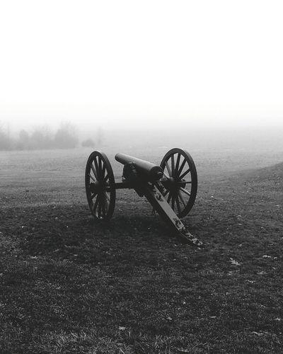 Gettysburg War Artillery Old History Outdoors No People Civil War History Civil War Canon Civil War Era