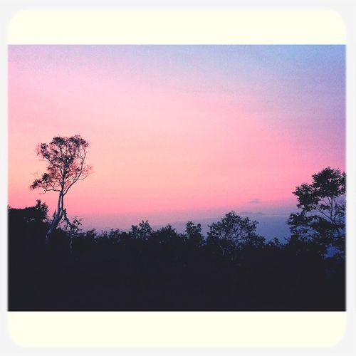 Sunset 斑尾 Landscape Madarao Trail