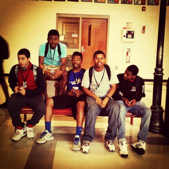 Me And Tha Bros Today At Lunch