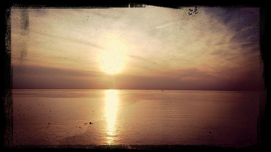 Sunset Germeny Denmark