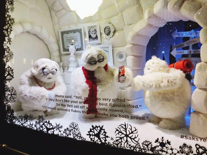 Christmas Eve Yeti Story again~I love it!!!