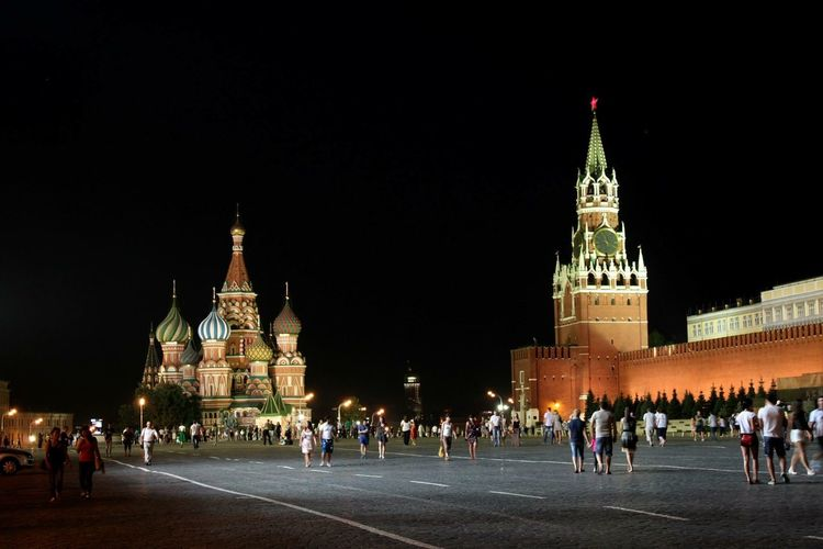 Mosca Moscow City Moscow Kremlin Cremlino Russia Place Travel Travel Viaggio