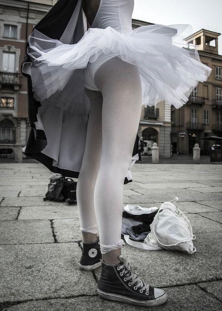 Ancient Architecture Ballerina Ballet Dancer Ballet Dress Ballett Girl Human Body Part Sneakers Square Streetphotography Tutu