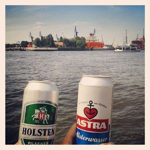 Hamburg Hh Germany Hamburghafen Goodlife Bier Astra Holsteiner