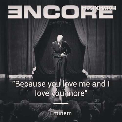 Myfeelingsexactly Babydaddy  Toxiclove Eminem slimshady Encore