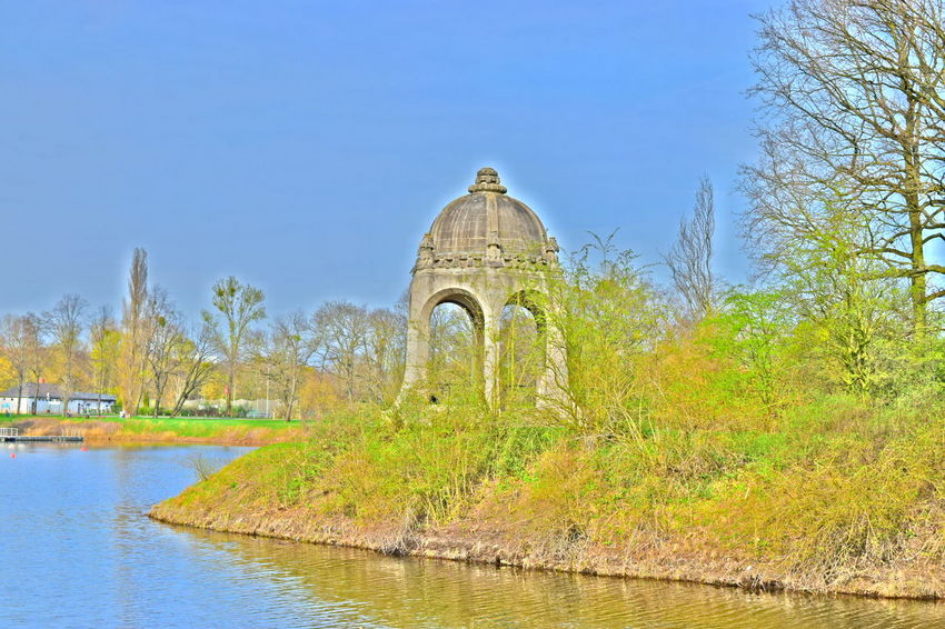 No People Architecture Outdoors Water Clear Sky Adolf Mittag See Spring Stadtpark Magdeburg Beautiful Places Eye Em Nature Lover