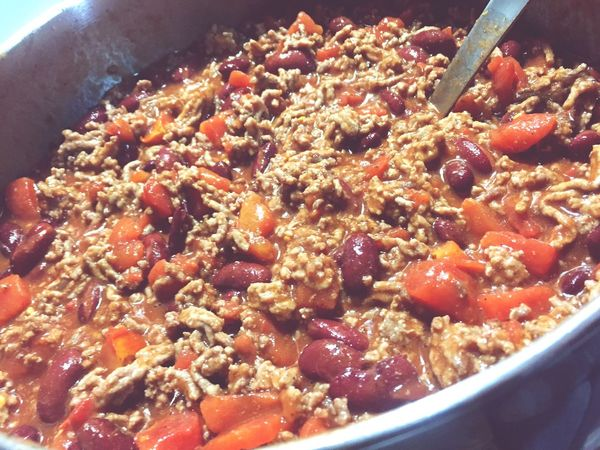 Pot Of Chili Food Food And Drink Freshness Indoors  Bowl Close-up Healthy Eating No People Ready-to-eat Day