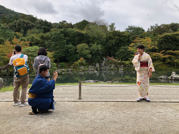 Taking photos of people taking photos. Tourist Destination Leisure Activity Togetherness Lifestyles Tourist Activity Japanese Culture Japanese Clothes