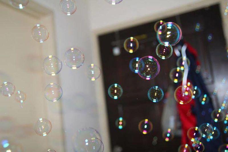 bubble...free ...