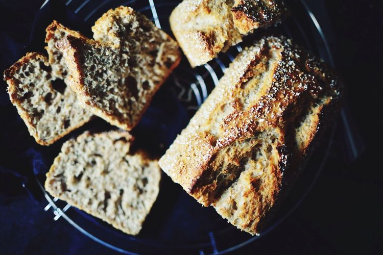 Directly Above Shot Of Homemade Breads